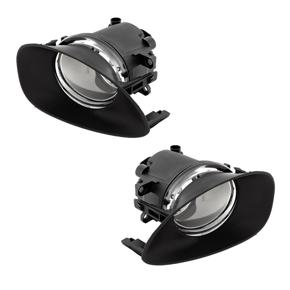 CLEAR LENS OE DRIVING//BUMPER JDM FOG LIGHT//LAMP+BULB FOR 06-08 YARIS//VITZ 2//3DR