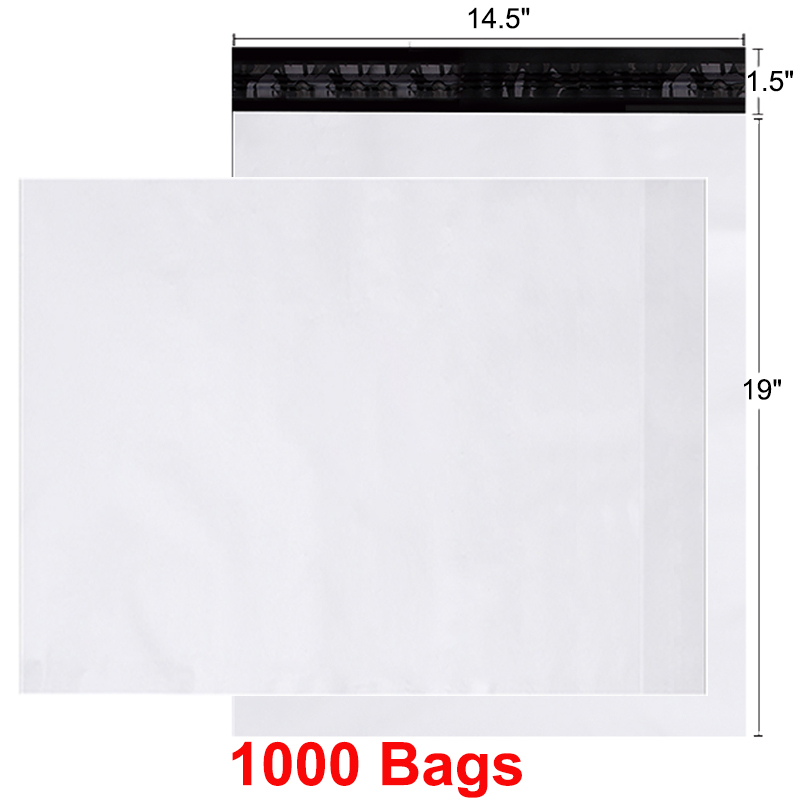 100 Poly Mailers Ahipping Bags 14.5*19 100 Bags New