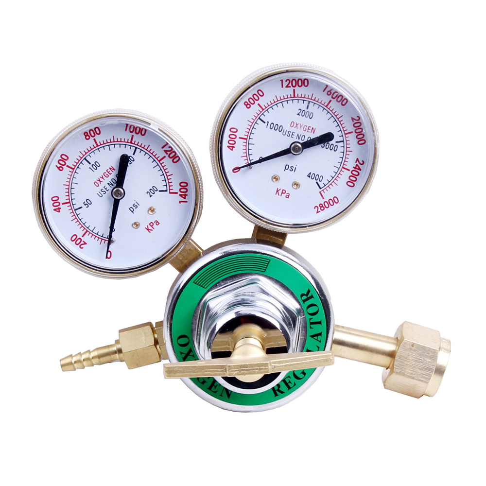 CGA540 Oxygen Regulator Welding Pressure Gauge for Gas Torch Cutting Kits Tool