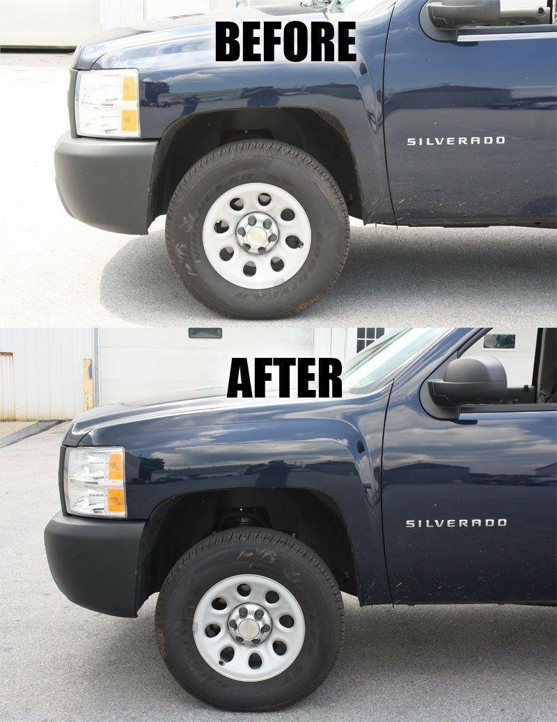 """2.5/"""" Front Leveling Lift Kit  Red For 2007-2017 Chevy Silverado1500 GMC Sierra"""
