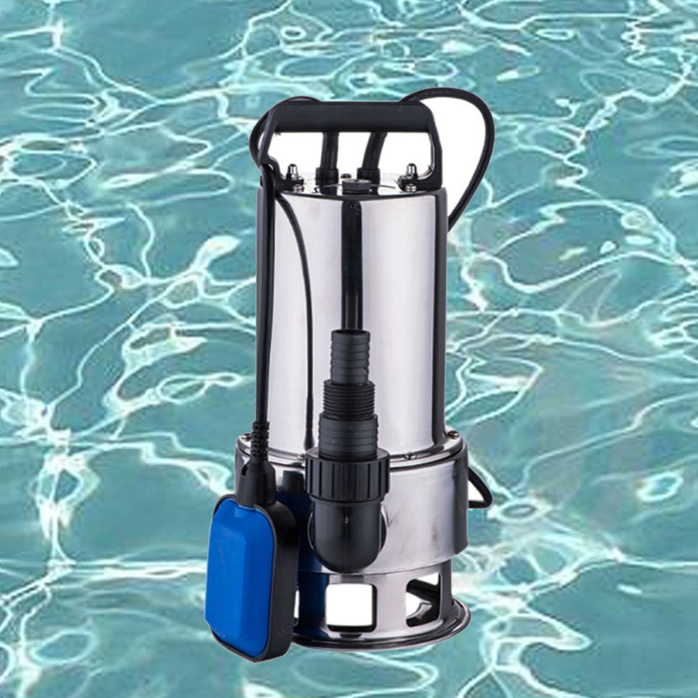 1100W Electric Submersible Pump forDirty Clear Water Garden Tank Pool Pond Drain