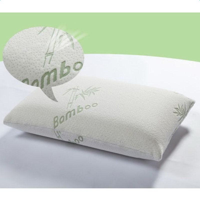 Comfortable Memory Bamboo Pillow Improved Version Hypoallergenic