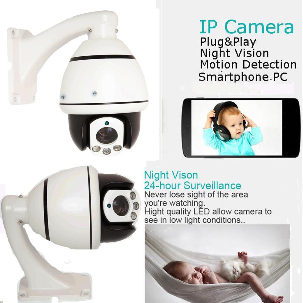 Home Security Camera System 1200TVL CCTV Outdoor Dome IP Camera Night Vision