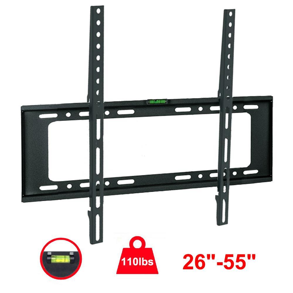 26/'/'-55/'/' Screen TV Wall Mount Flat Fixed Bracket Flat Panel TV Screen Holder US