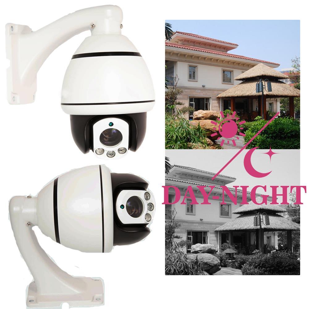 1200TVL Analog CVBS Camera SONY CMOS 30x Zoom CCTV PTZ Dome Camera Video IR-Cut