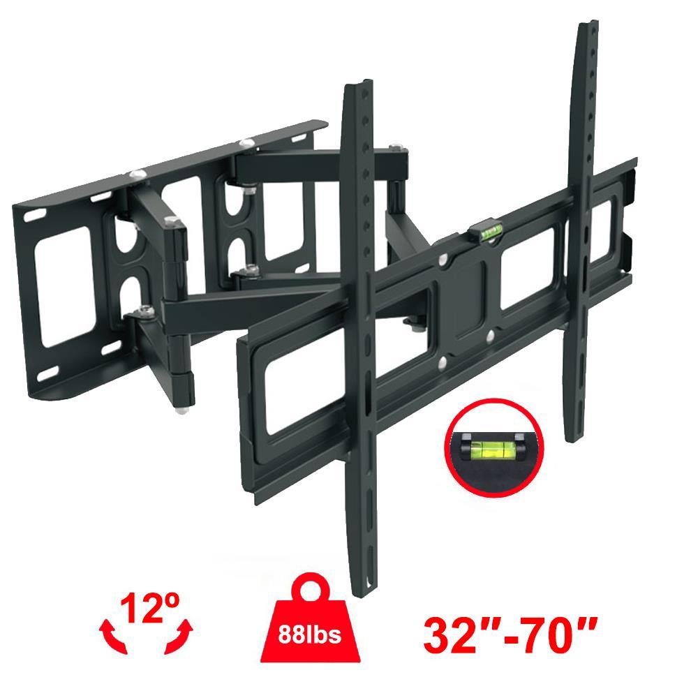 Heavy Duty Full Motion Tv Wall Mount 32 37 40 42 46 47 50 52 55 60 65 70 Lcd Led Ebay