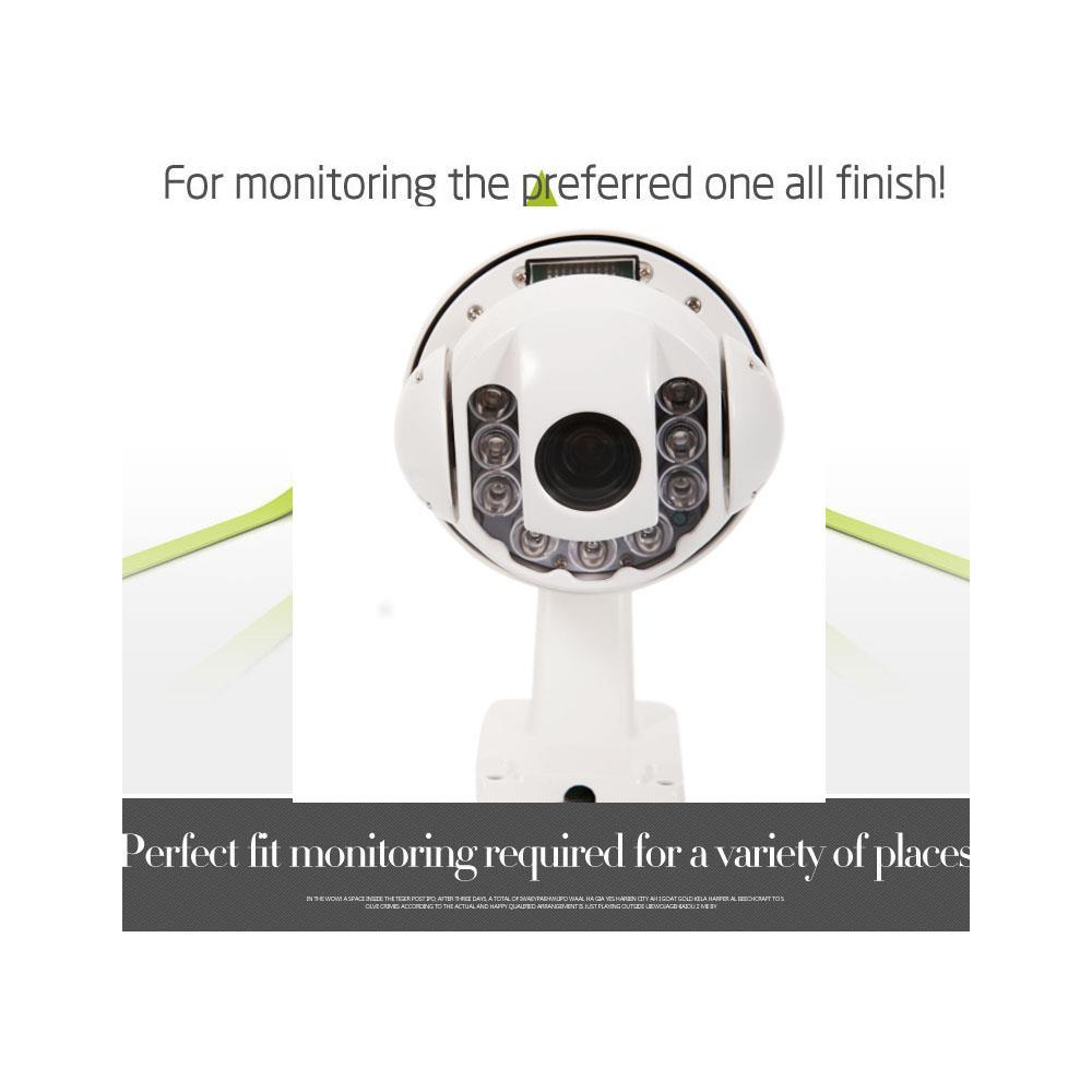 360°1200TVL HD Pan//Tilt Outdoor 30X Zoom PTZ Dome Wired CCTV Camera IR Day Night