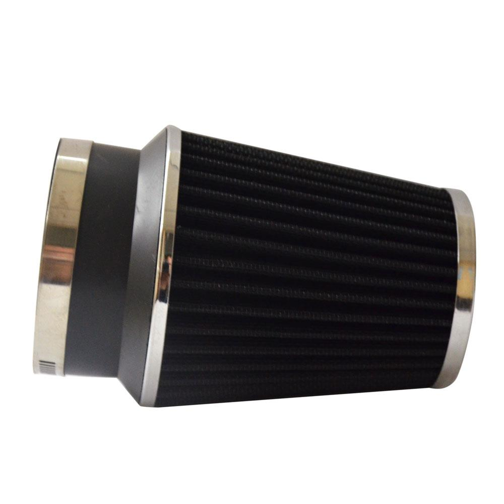 """RED 3.5 Inches 3.5/"""" 89mm Inlet Cold Air Intake Cone Long TRUCK FILTER For Chevry"""