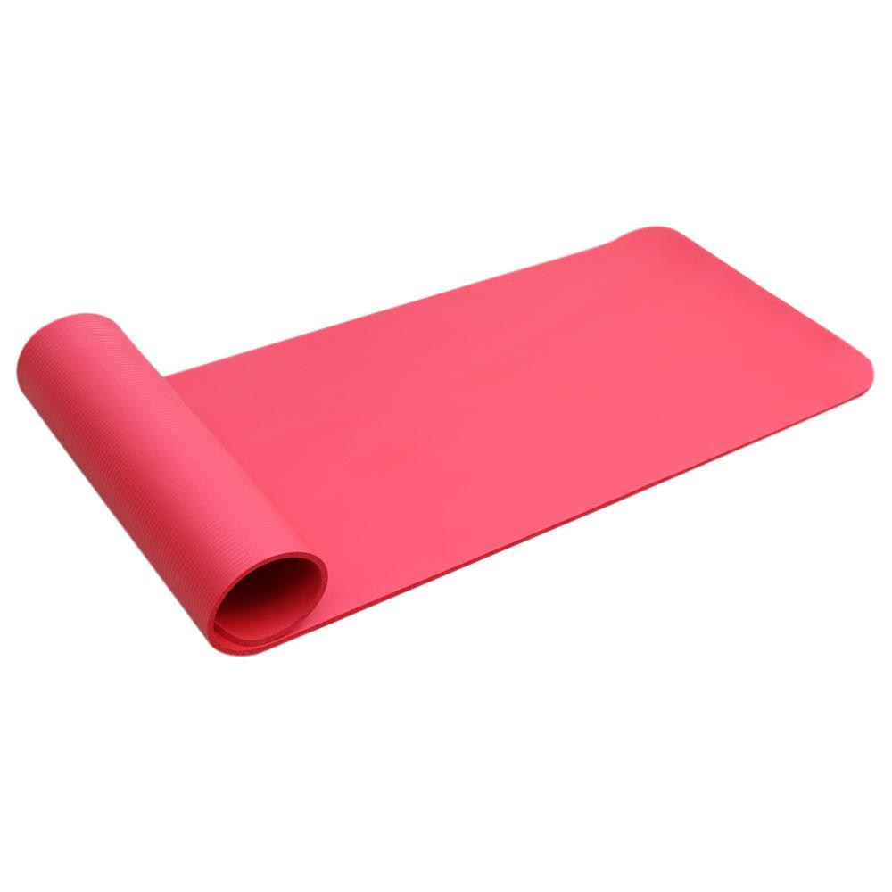 Extra 8mm Thick Exercise Mat Yoga Gym Workout Fitness Gymnastics Mats Large Pad 11