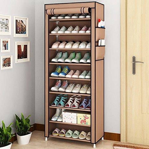 dustproof 10 layer shoes cabinet