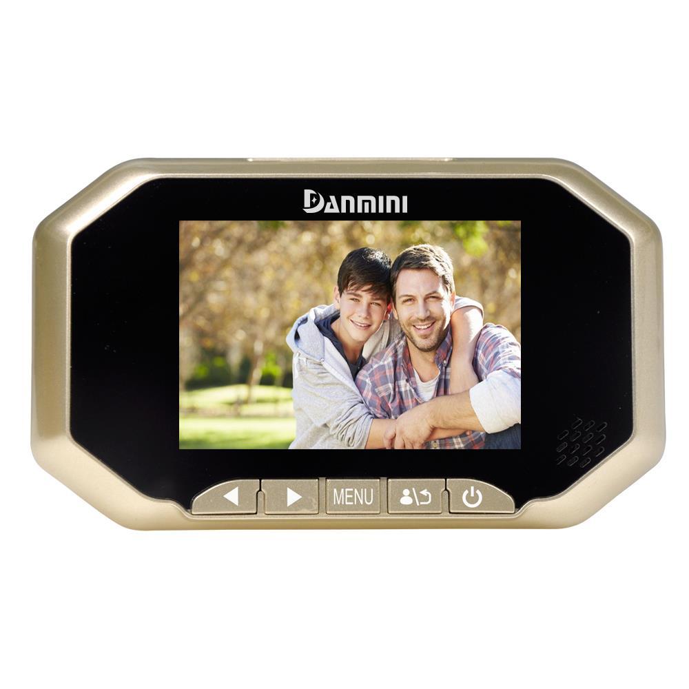 "3.0/"" LCD Peephole Viewer Video Door Surveillance Camera Visual Doorbell IR-CUT"