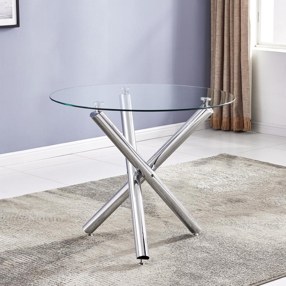 High Gloss Glass Coffee Table  8 mm Glass Oval Small Table Modern Design