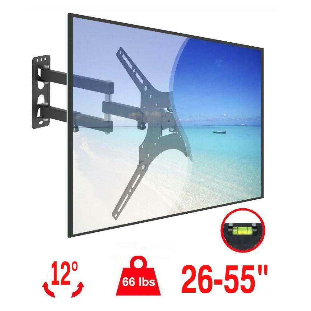 FLAT LCD LED PLASMA TV WALL MOUNT BRACKET TILT 14 26 32 40 42 55 65 71 Inch
