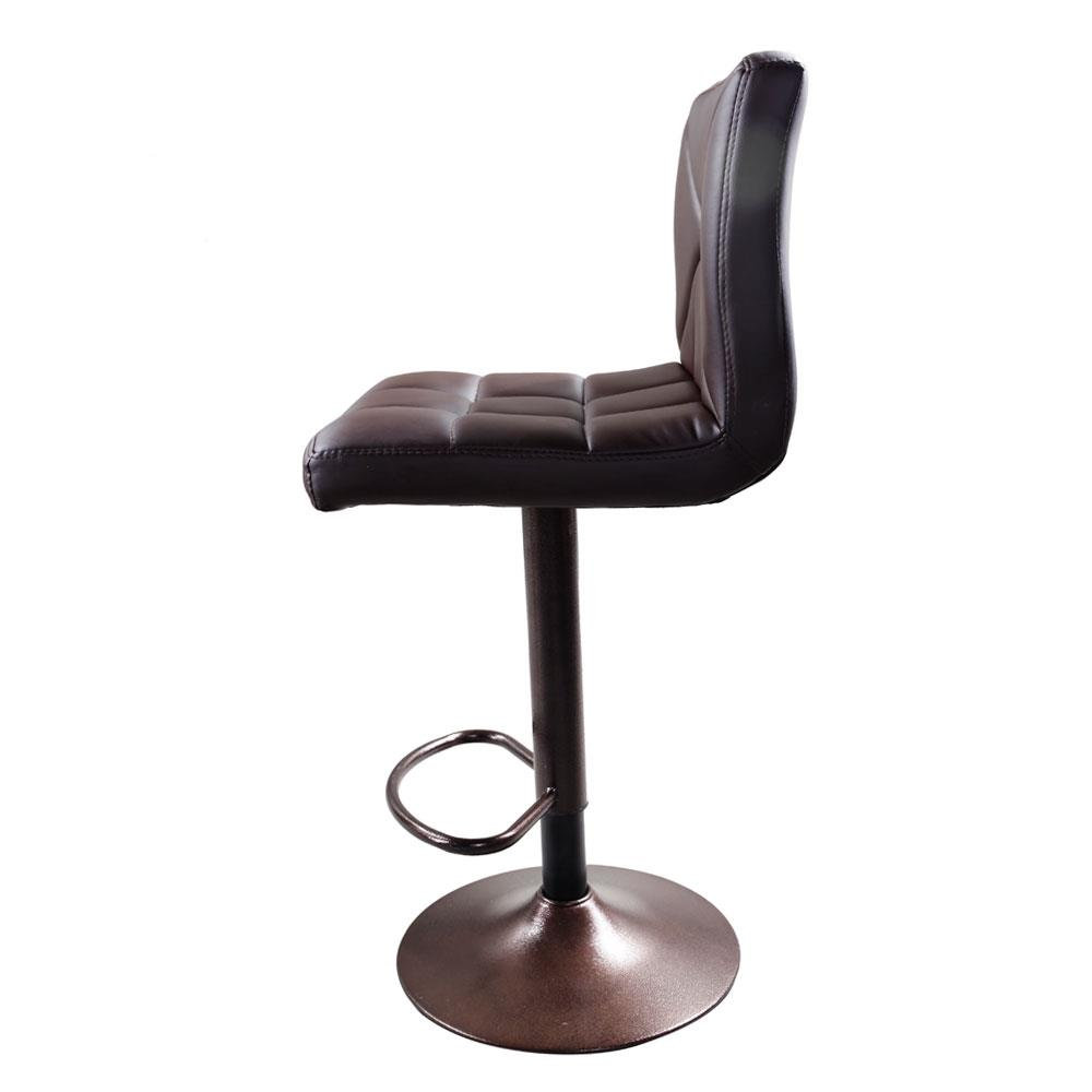 Admirable Details About 2 Pcs Black Swivel Leather Modern Adjustabl Barstools Hydraulic Chair Bar Stools Squirreltailoven Fun Painted Chair Ideas Images Squirreltailovenorg