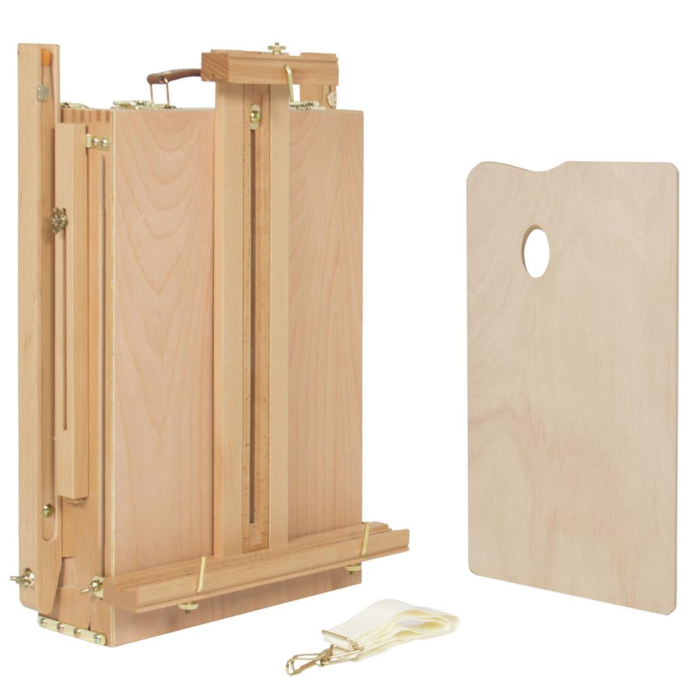 Portable Oil Painting Easel Sketch Box Artist Supplies Tripod Beech Wooden Ebay